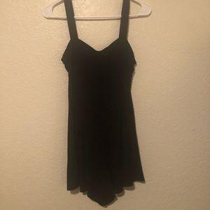 Black (mini dress style) Romper